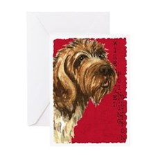 Wirehaired Pointing Griffon Greeting Card