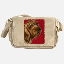 Wirehaired Pointing Griffon Messenger Bag