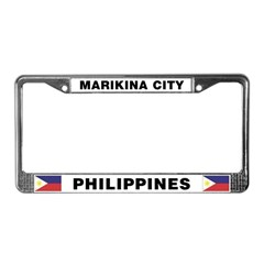Marikina City License Plate Frame
