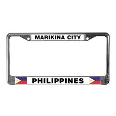 Marikina City License Plate Frame