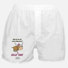 Girls Silly-Yak Boxer Shorts