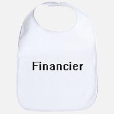 Financier Retro Digital Job Design Bib