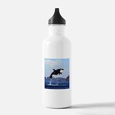Orca Breaching Water Bottle