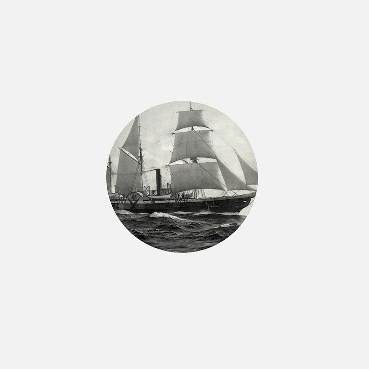 USS Michigan Mini Button