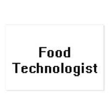 Food Technologist Retro D Postcards (Package of 8)