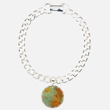 Turquoise and Copper Red Bracelet