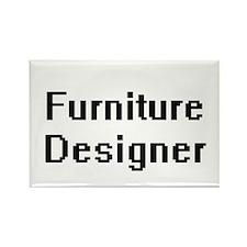 Furniture Designer Retro Digital Job Desig Magnets