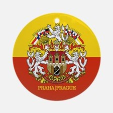 Prague Ornament (Round)