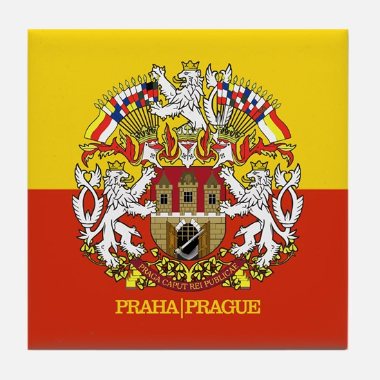 Prague Tile Coaster