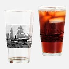 USS Michigan Drinking Glass