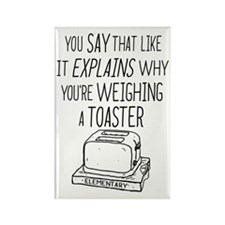 Elementary Weighing A Toaster Magnets