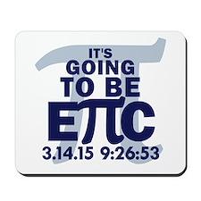 Epic Pi - Blue Mousepad