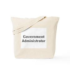 Government Administrator Retro Digital Jo Tote Bag