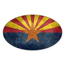 Arizona the 48th State - vintage retro ver Decal