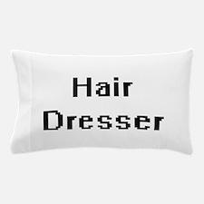 Hair Dresser Retro Digital Job Design Pillow Case