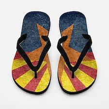Arizona the 48th State - vintage retro Flip Flops