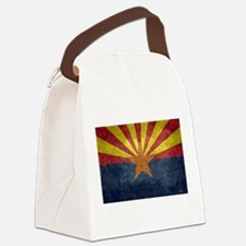 Arizona the 48th State - vintage Canvas Lunch Bag