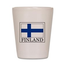 Finland Shot Glass