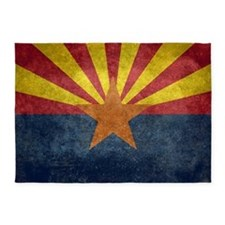 Arizona the 48th State - vintage re 5'x7'Area Rug