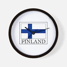 Finland Wall Clock