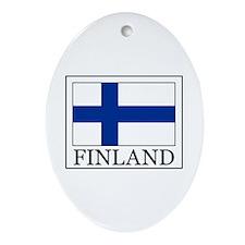 Finland Ornament (Oval)
