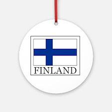 Finland Ornament (Round)