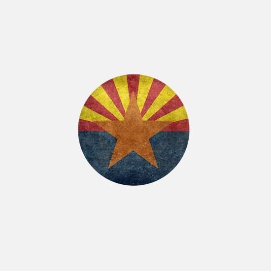 Arizona the 48th State - vintage retro Mini Button