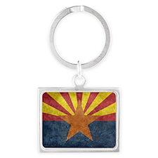Arizona the 48th State - vintage retro v Keychains