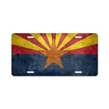 Arizona the 48th State - vi Aluminum License Plate