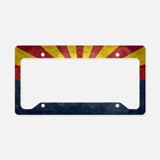 Arizona the 48th State - vint License Plate Holder