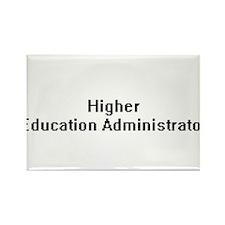 Higher Education Administrator Retro Digit Magnets