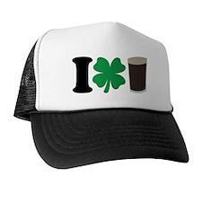 I Love Guiness Trucker Hat