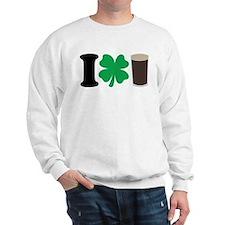 I Love Guiness Sweatshirt
