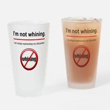 NotWhining Drinking Glass