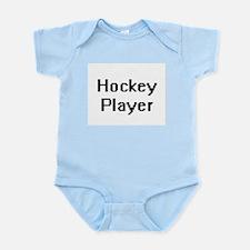 Hockey Player Retro Digital Job Design Body Suit