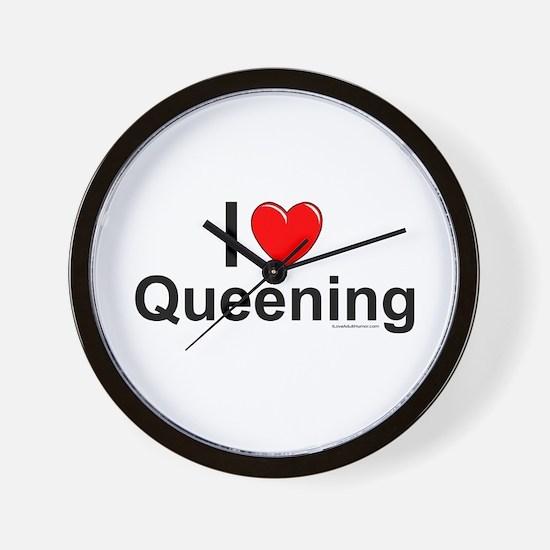 Queening Wall Clock