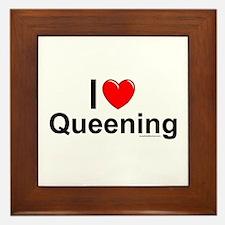 Queening Framed Tile