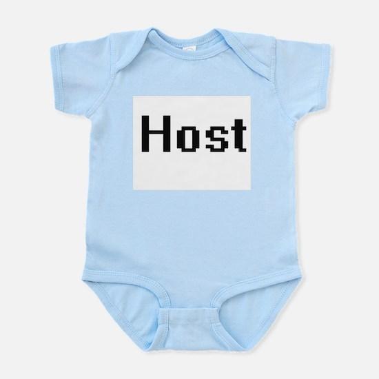 Host Retro Digital Job Design Body Suit