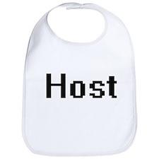 Host Retro Digital Job Design Bib