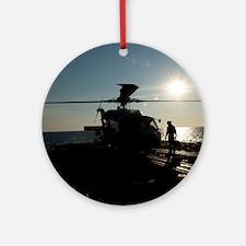 SH-60 Seahawk Ornament (Round)