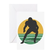 FOOTBALL_5 Greeting Card