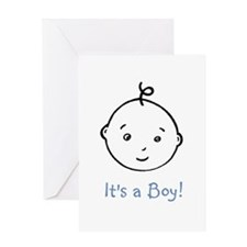 Unique Its a boy Greeting Card