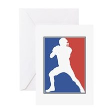 QUARTERBACK_1 Greeting Card