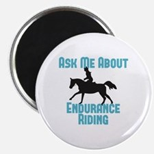 Ask Me About Endurance Riding Magnet