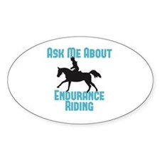 Ask Me About Endurance Riding Decal