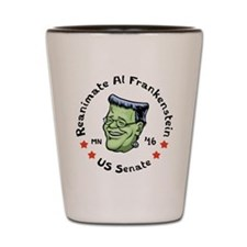Reanimate Al Frankenstein Shot Glass