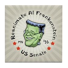 Reanimate Al Frankenstein Tile Coaster