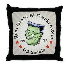 Reanimate Al Frankenstein Throw Pillow