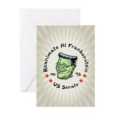 Reanimate Al Frankenstein Greeting Card
