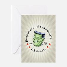 Reanimate Al Frankenstein Greeting Card